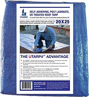UTARPit 20 ft. x 25 ft. Blue Roof Tarp