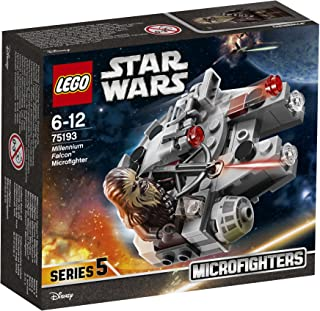 LEGO Star Wars Millennium Falcon Microfighter 75193 Playset Toy