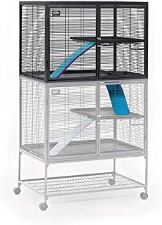 Midwest Deluxe Critter Nation Add-On Unit Small Animal Cage (Model 163) Includes 1 Leak-Proof Pan, 1 Shelf, 1 Ramp w/Ramp ...