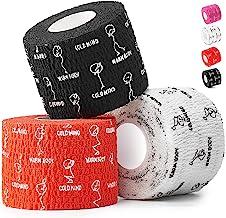 """WARM BODY COLD MIND 2"""" Premium Lifting Thumb Tape voor Gewichtheffen, Olympisch Gewichtheffen, Crossfit, Powerlifting & St..."""