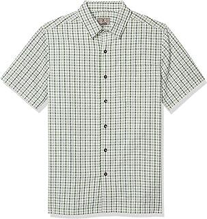 ROYAL ROBBINS Men's Mojave Pucker Plaid Short Sleeve Shirt