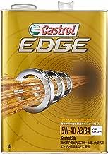 カストロール エンジンオイル EDGE 5W-40 4L 4輪ガソリン/ディーゼル車両用全合成油 SN Castrol