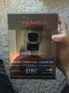 Rocketfish 2.0MP Widescreen HD 720p USB WebCam Photo Up To 8MP PC|Mac RF-HDWEB
