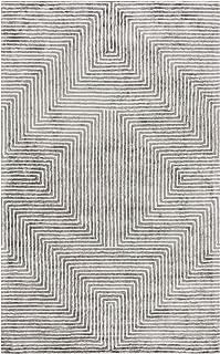 Surya Quartz Area Rug, 8' x 10', Light Gray/Charcoal
