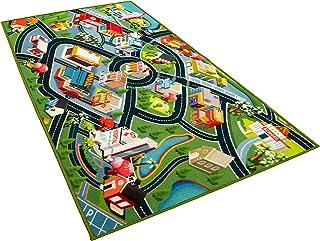 Kids Carpet Playmat Rug - Fun Carpet City Map for Hot...