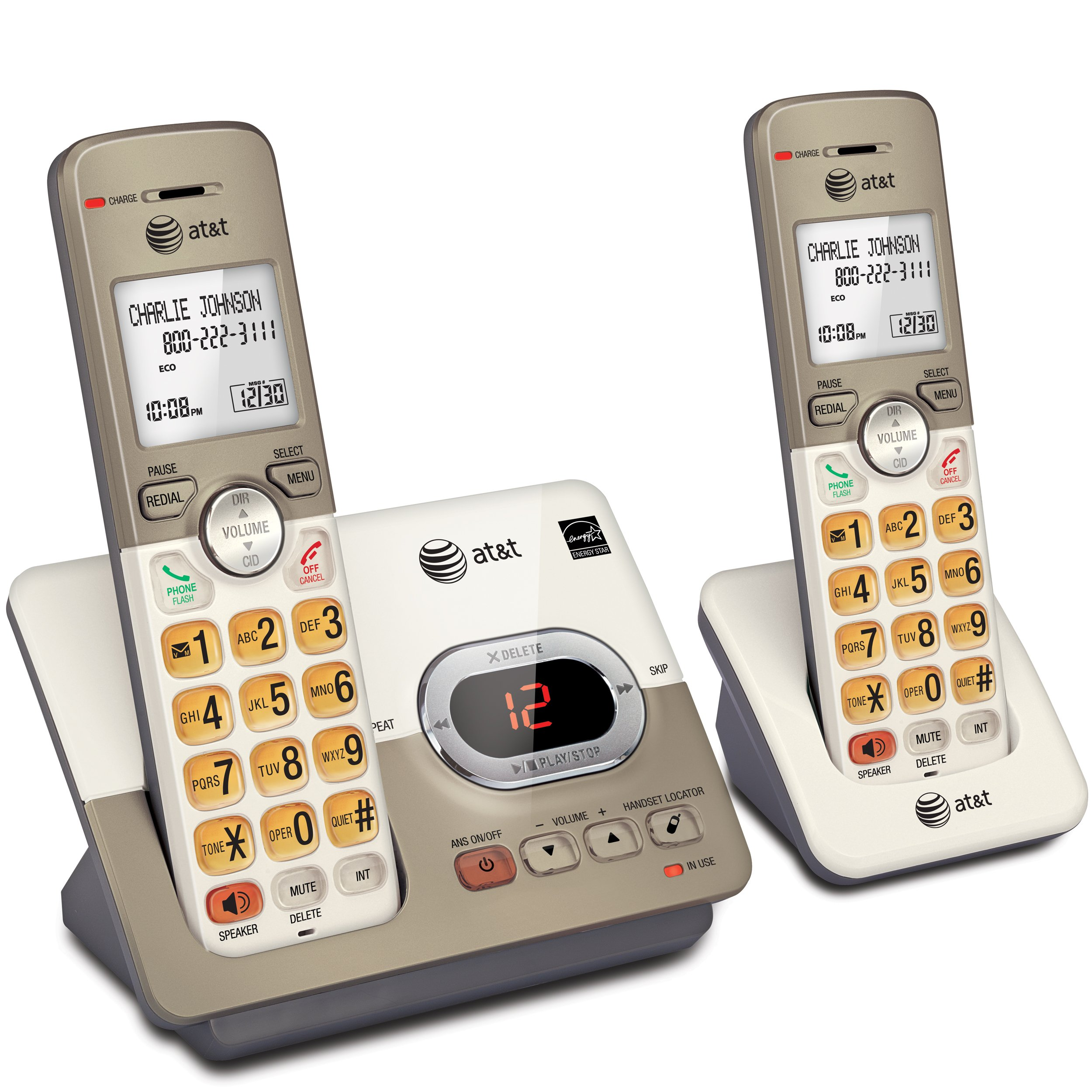 AT EL52213 2 Handset Expandable Extra Large