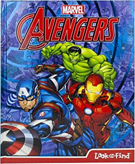 Marvel Avengers Look and Find Activity Book - Includes...