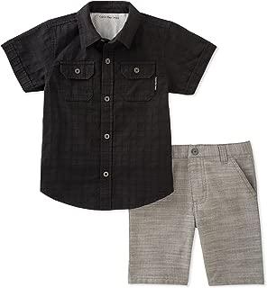 Calvin Klein 2 Pieces Shirt Shorts Set