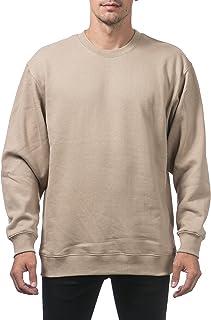 f1369d7dd1be Pro Club Men s Heavyweight 13oz Crew Neck Fleece Pullover Sweatshirt
