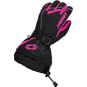 SML Castle X Epic-G1 Mens Snowmobile Gloves Hi-Vis