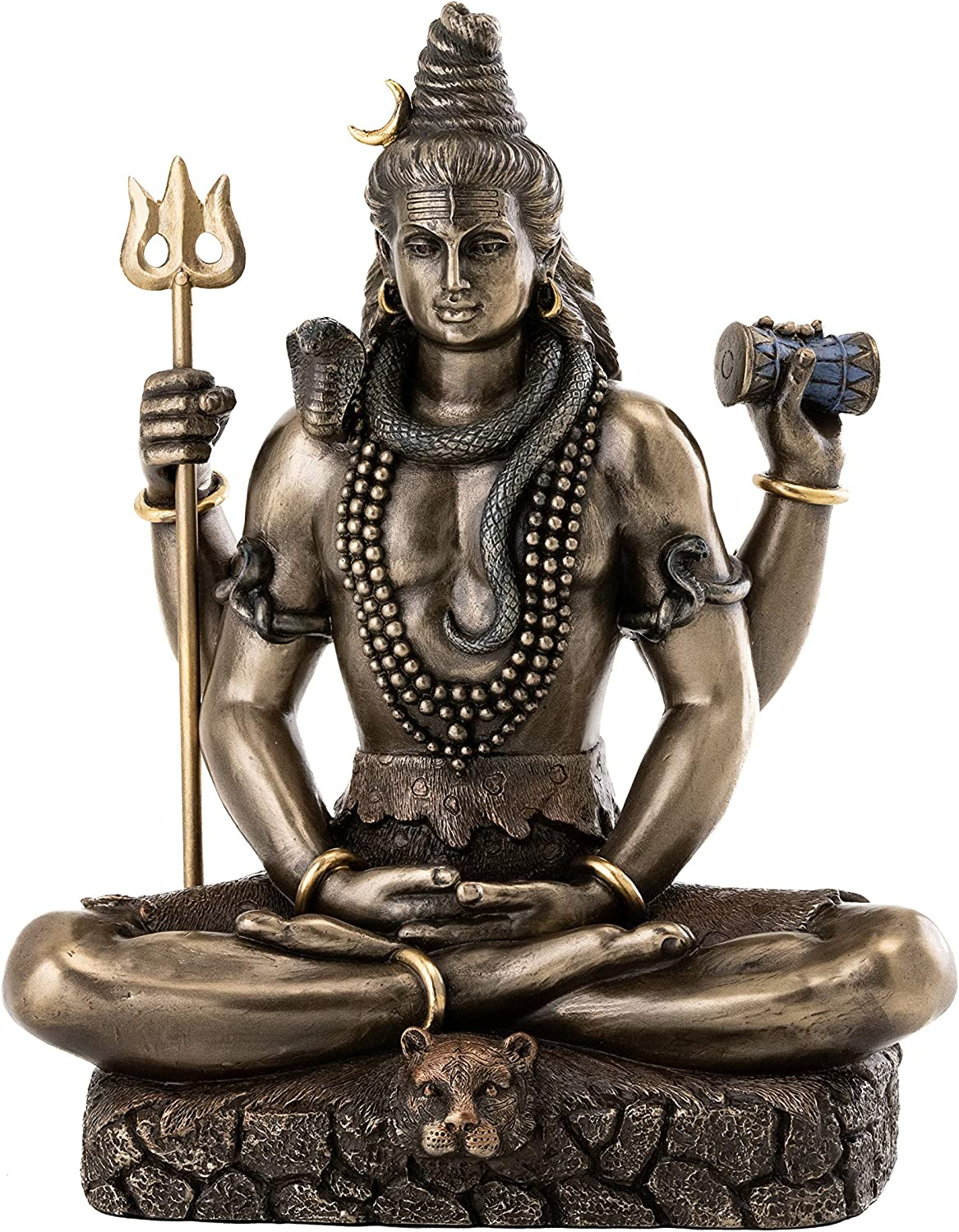 Top Collection Shiva Statue in God of Ranking Super beauty product restock quality top! TOP13 Padmasana Lotus Pose-Hindu
