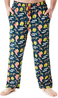 SpongeBob Squarepants Mens Lounge Pants, Cotton Pyjama Bottoms M-2XL