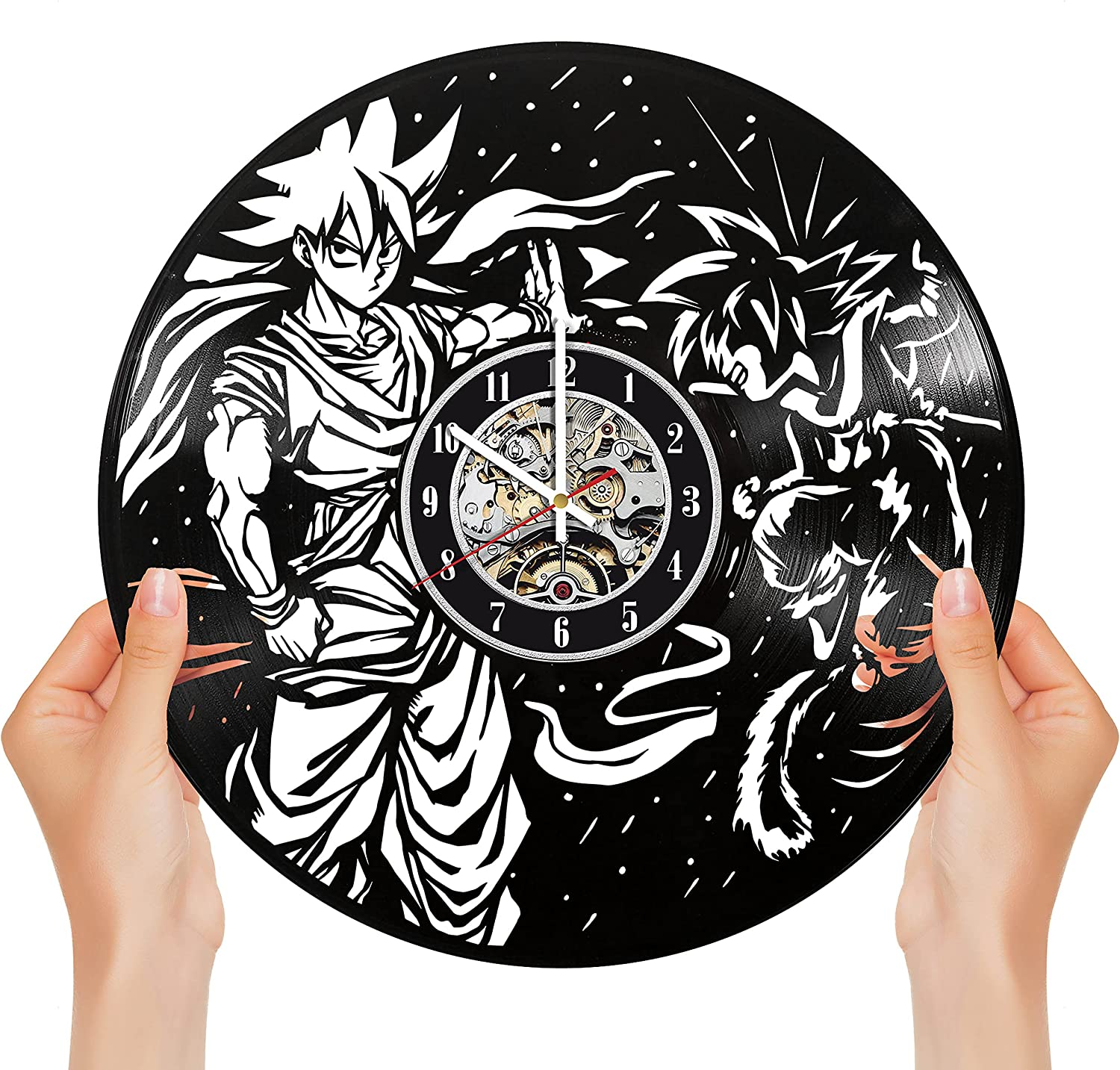 Exquisite Goku Outlet Detroit Mall sale feature Vinyl Clock Designed Limited in Edit Brooklyn