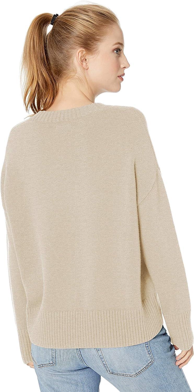 Jersey de mujer de corte cuadrado y cuello redondo 100 /% algod/ón Marca Daily Ritual