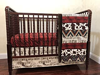 rodeo crib bedding