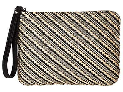 Patricia Nash Cassini Wristlet (Natural/Black) Wristlet Handbags