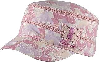 Kooringal (クーリンガル) 帽子 UVカット キャップ 女の子 ポニーテールができる キッズ帽子 ピンク