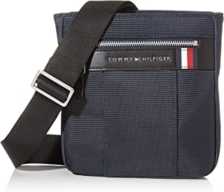 Tommy Hilfiger Elevated Nylon Mini Crossover - Bolso bandolera Hombre