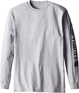 Carhartt Men's Signature Sleeve Logo Long Sleeve T-Shirt