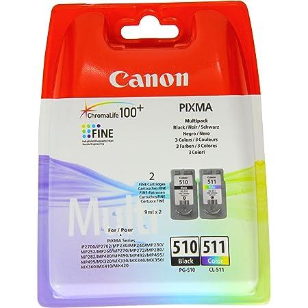 Canon Tintenpatronen Set Für Pixma Mp280 Schwarz Color Bürobedarf Schreibwaren