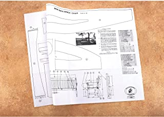 Woodworking Project Paper Plan to Build Bow Back Bench and Chair