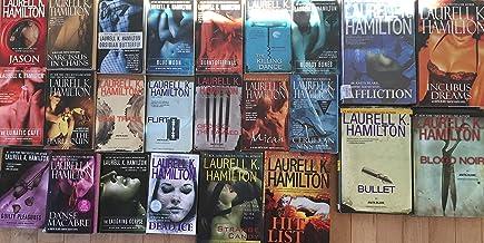 Anita Blake Vampire Hunter Collection by Laurell K Hamilton 24 Book Set
