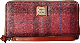 Dooney & Bourke - Tiverton Large Zip Around Wristlet