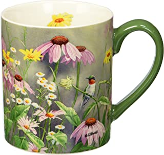 Lang Ruby In Wildflowers Mug by Susan Bourdet, 14 oz., Multicolored