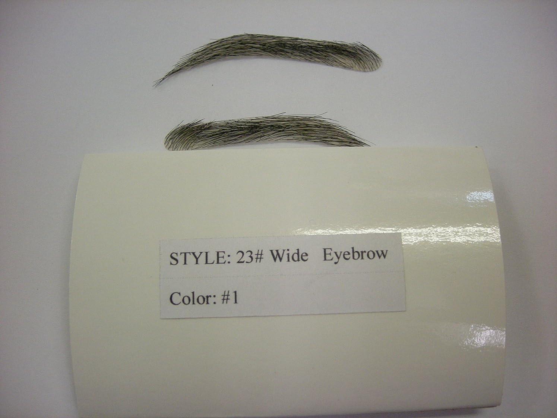 種をまく証明するイサカ女性 付け眉毛 眉エクステンション 人口皮膚 自然な仕上がり EM-23# (ミディアムブラウン)