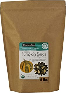 Wilderness Poets, Oregon Pumpkin Seeds - Organic, Raw, Heirloom (5 Pound)