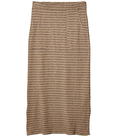 Prana Tulum Skirt (Dark Khaki) Women
