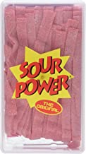 SOUR POWER Strawberry Belts, 42.3 Ounce
