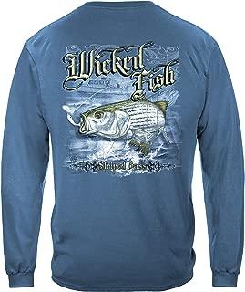 Striped Bass Long Sleeve T Shirt WF103LS