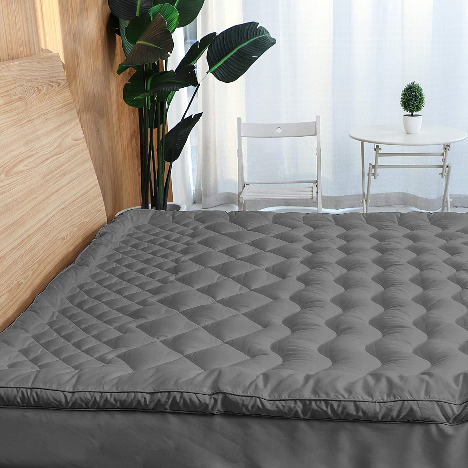 Sale SALE% OFF Marquess Mattress Pad Cover with and B 7-Zone Max 76% OFF Decompression Soft
