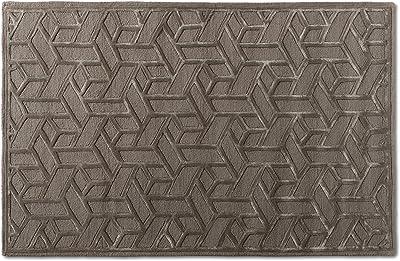 Baxton Studio 188-11831-AMZ Rugs, Grey