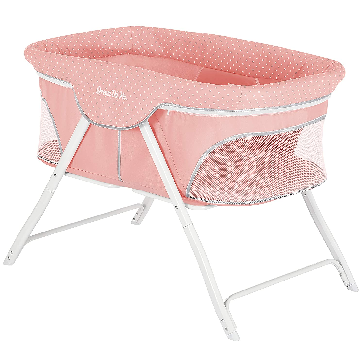 Dream Limited time trial price On Me Traveler Max 59% OFF Portable Bassinet Coral Fusion
