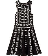 Ella Moss Girl - Mia Intarsia Sweater Dress (Big Kids)