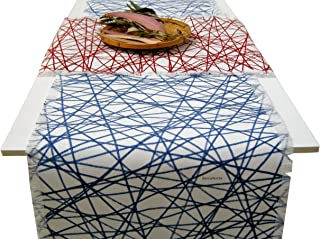 Camino de mesa original,Mantel de diseño geometrico, BeccaTextile.