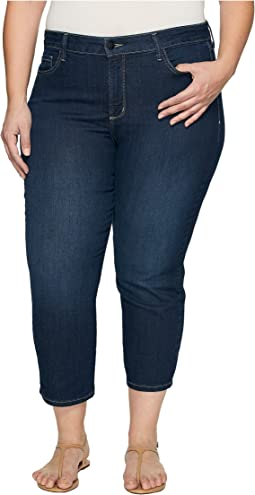 Plus Size Marilyn Capris in Hollywood Wash