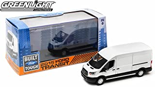 Greenlight 86039 2015 Ford Transit LWB Oxford White 1:43 Scale Diecast
