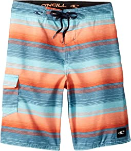 Santa Cruz Stripe Boardshorts (Big Kids)