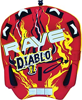 RAVE Sports Diablo II Boat Towable Tube for 1 or 2 Riders