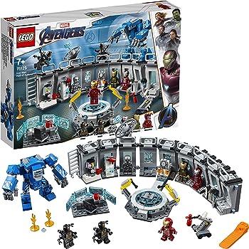 LEGO®-Marvel Super Heroes™ La salle des armures d'Iron Man Jeu de construction, 7 Ans et Plus, 524 Pièces 76125