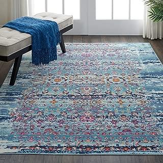 Best watercolor rug blue Reviews
