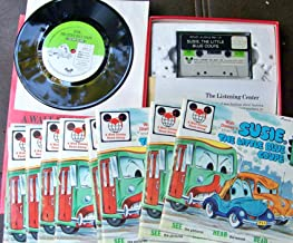 Disney Susie The Little Blue Coupe Read Along Vinyl Record Cassette Tapes Student Books Teacher Book