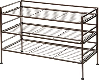 AmazonBasics 9-Pair Shoe Rack Organizer