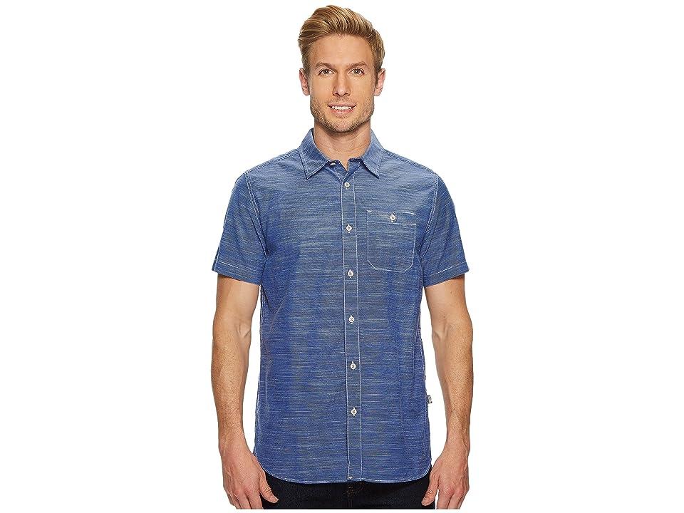 The North Face Short Sleeve Baker Shirt (Brit Blue) Men