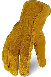 Ironclad EXO2-WHO-07-XXXL workhorse Leather Work Gloves, XXX-Large