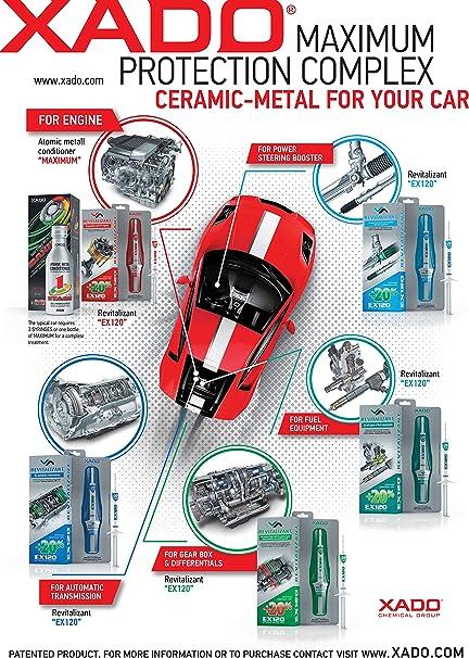 Ex120 Revitalizant Motor Benzin Lpg Auto