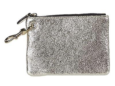Rebecca Minkoff Clip Pouch (Champagne) Handbags